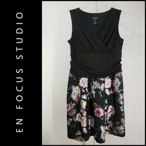Enfocus Woman Sleeveless Fit & Flare Floral Dress